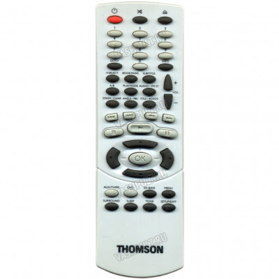 Пульт Thomson AUX/TV/FM/DVD